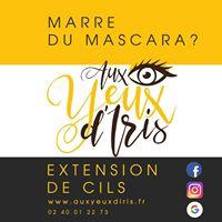 Aux Yeux d'Iris – Extensions de Cils